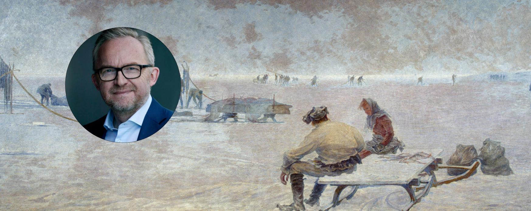 Jesper Theilgaard - Vädret i konsten vid Önningebymuseum. Nordens Institut på Åland