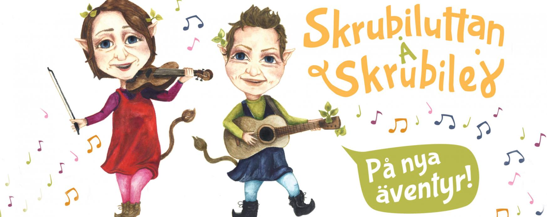 Nordens institut på Åland presenterar folkmusik får både gammal som ung Skrubiluttan Å Skrubilej .