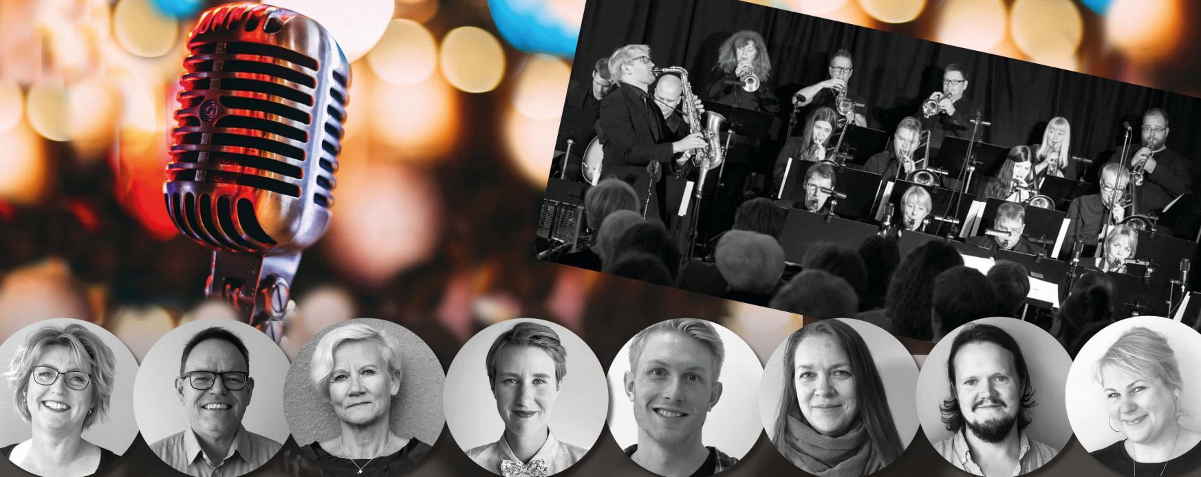 Storbandskväll med Alandia Big Band, produceras av Nordens institut på Åland