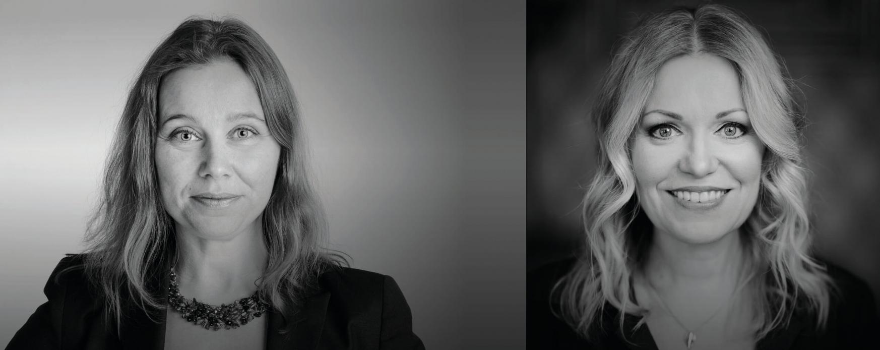 Foto av Hanna Hagmark: Therese Andersson. Foto av Isabella Grüssner-Sarling: Marcus Boman