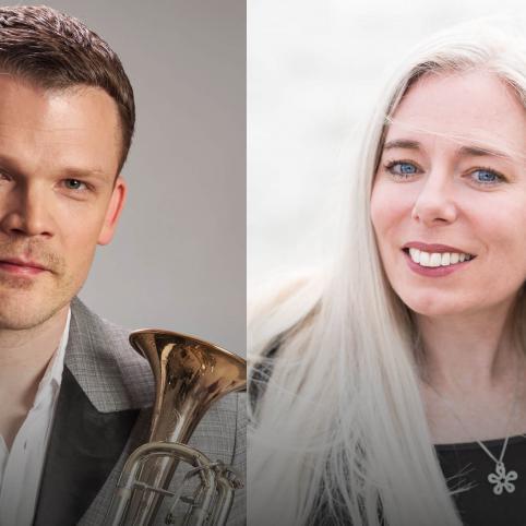 Hemma hos Johanna Grüssner på nipalive.ax den 22.5, konsert av Nordens institut på Åland. Foto: Markus Boman
