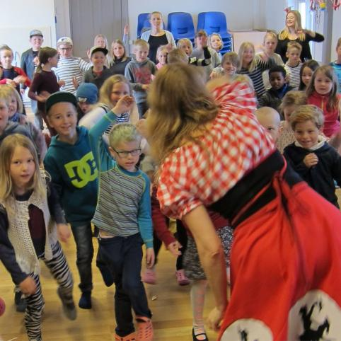 Konsert för dagisbarn anordnas av NIPÅ, Nordens Institut på Åland