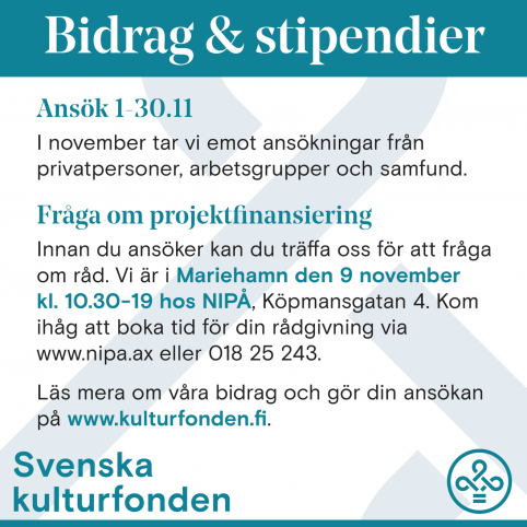 Information and counseling day with the Swedish Cultural Fund
