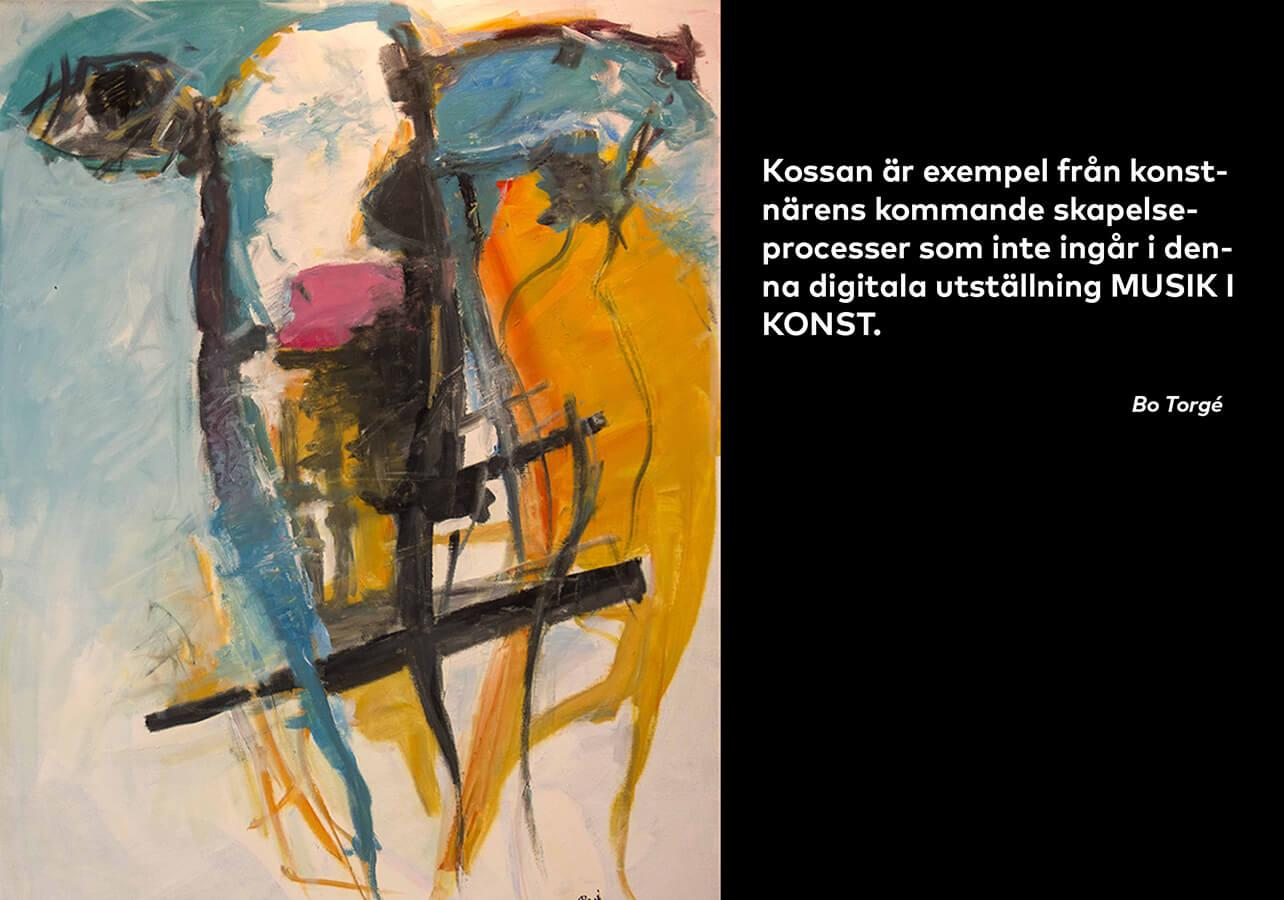 Ko. Akryl, 96 x 118 cm