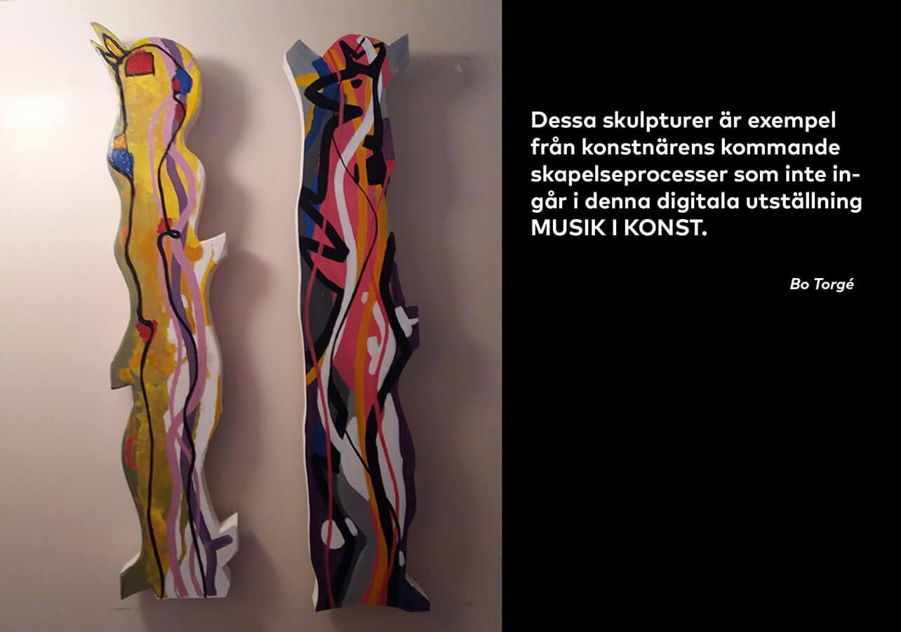 Skulpturer. Bo Torgé