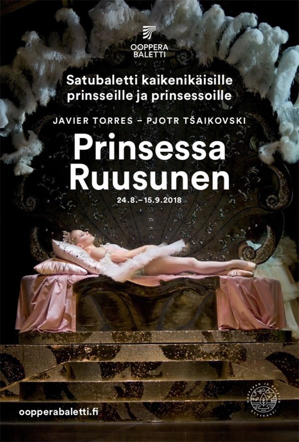 Exempelbild från Finlands Nationalopera och -balett. Skolopera Djurens planet i samarbete med Nipå, Nordens institut på Åland.