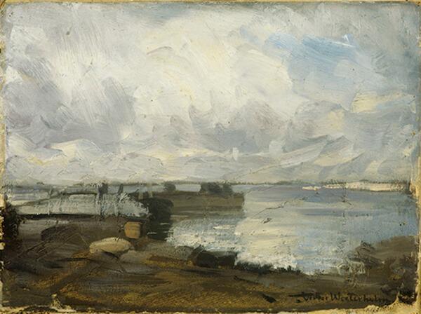 Vädret i konsten - Önningebymuseet, Nordens Institut på Åland