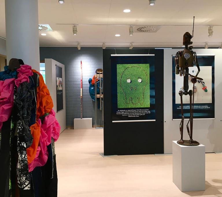Exhibition av Gallerey NIPÅ, Storagatan 9