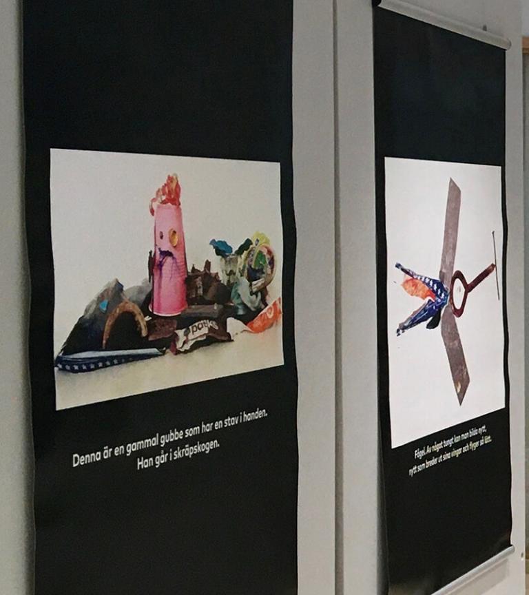 hållbART - intryck och avtryck. Utställning, Galleri NIPÅ