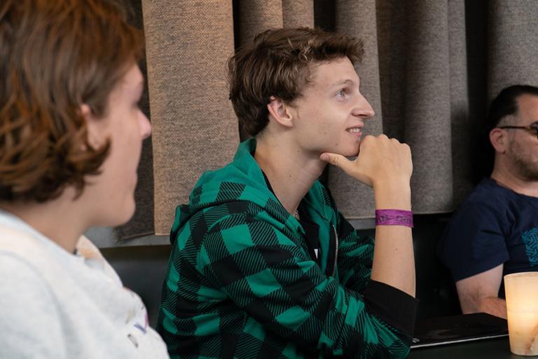 Jack Hancock, från Åland, här i Young Nordic Stars projektet.