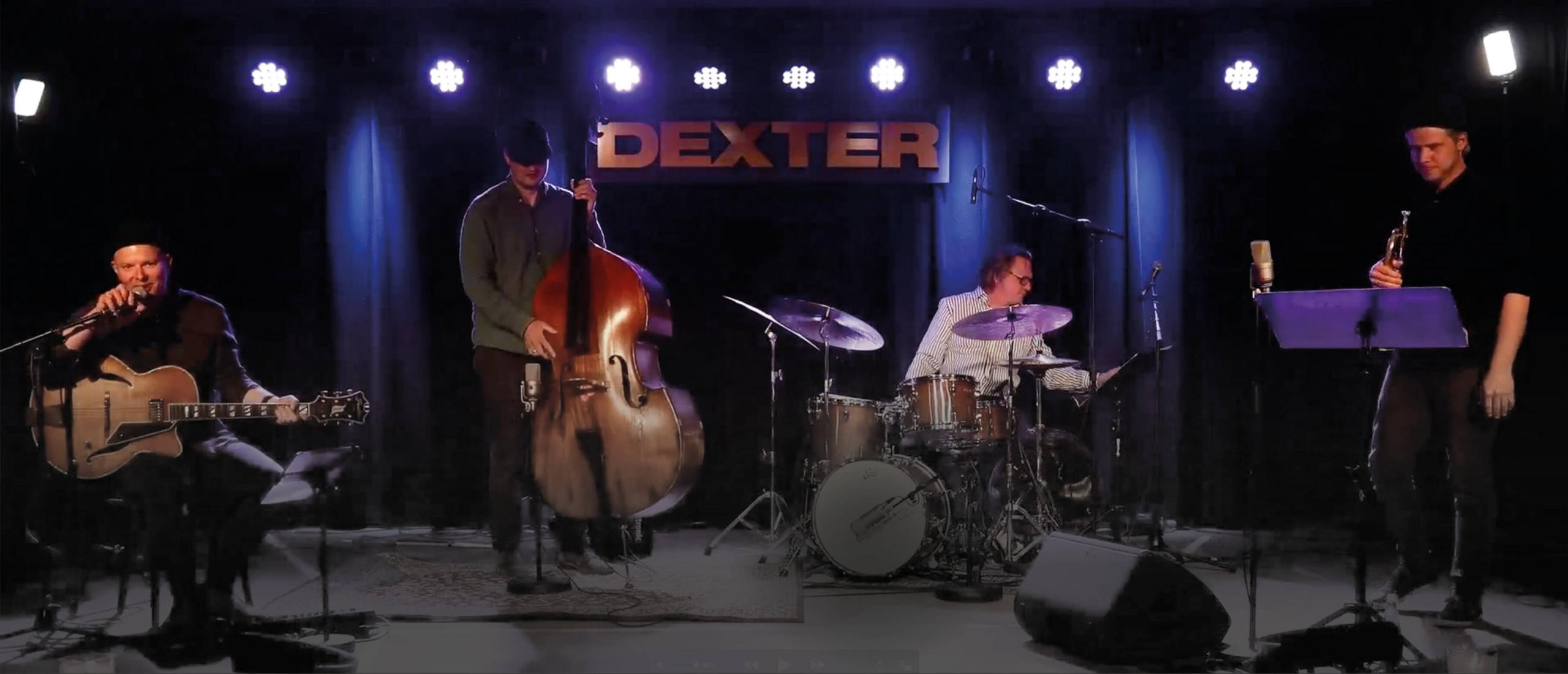 Jazz from Dexter May 29th, 19.00 at nipalive.ax. Nordic institute on Åland