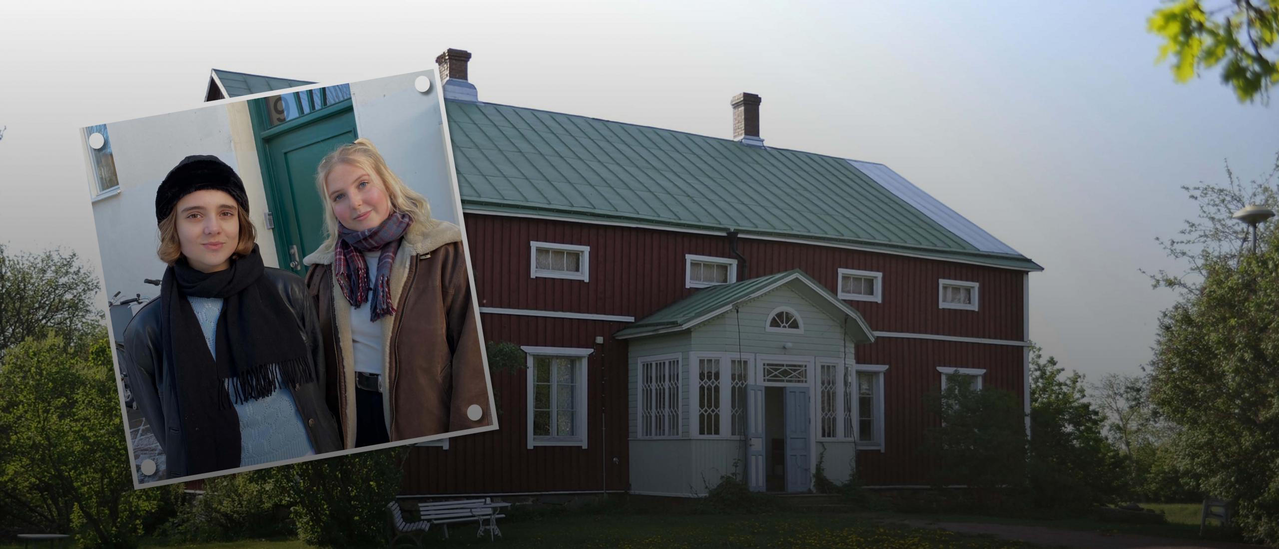 Ordsmidarna med kursledare Jorunn Lavonius och Norah Lång