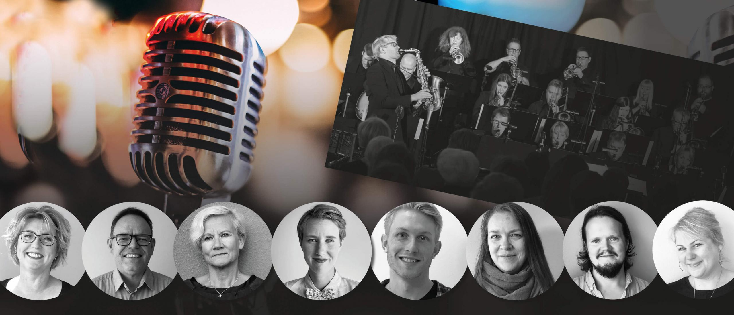 Nordic institute on Åland presents a Big Band evening at Nautical November 6th
