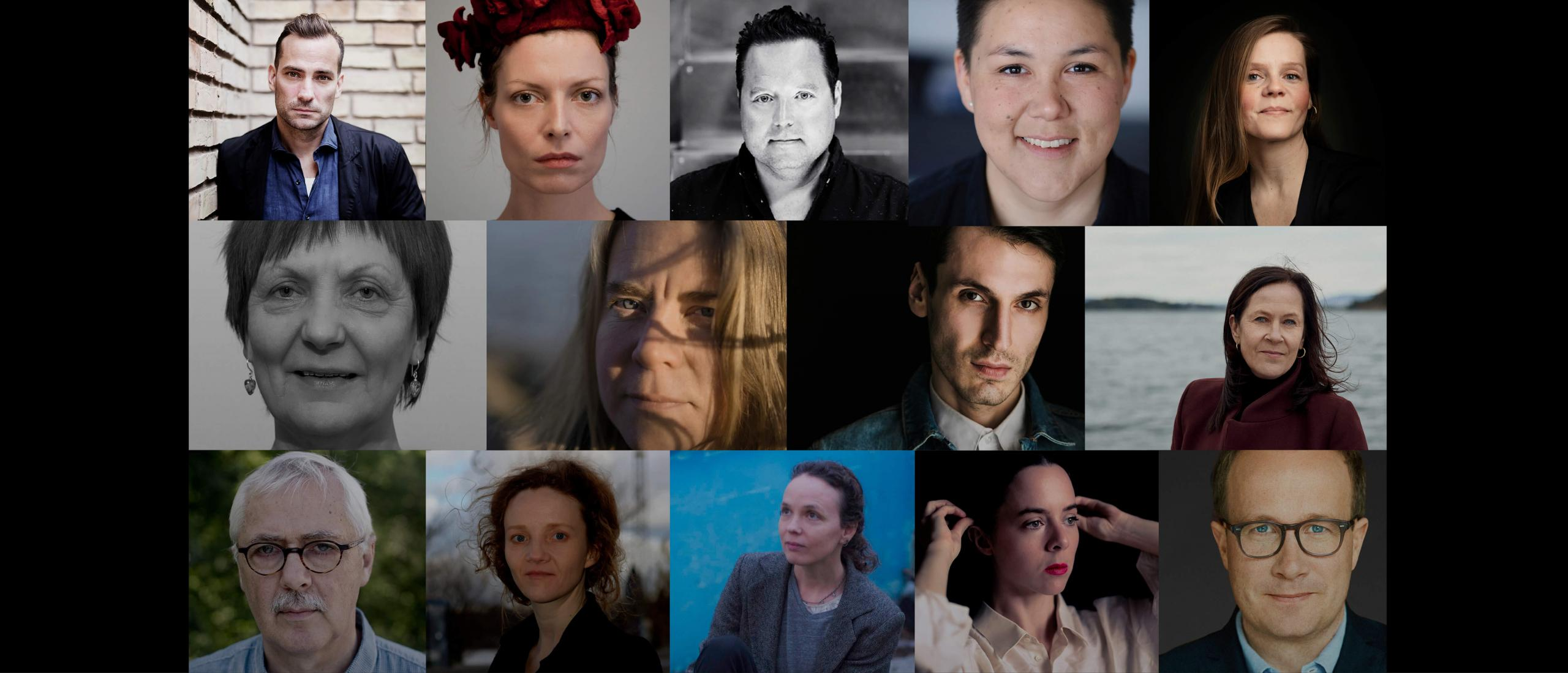 Author series with the nominees for the Nordic Council Literature Prize 2021