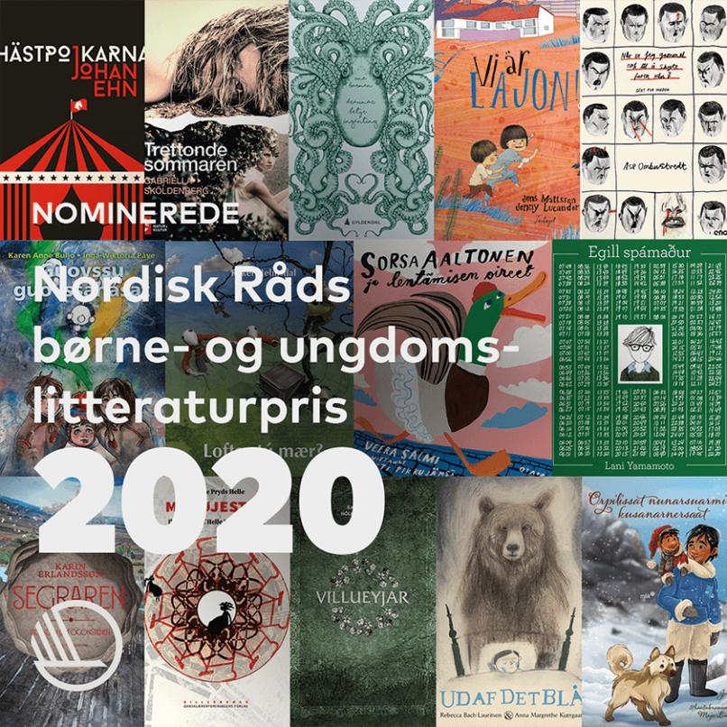 Årets nominerade till Nordiska rådets barn- och ungdomslitteraturpris
