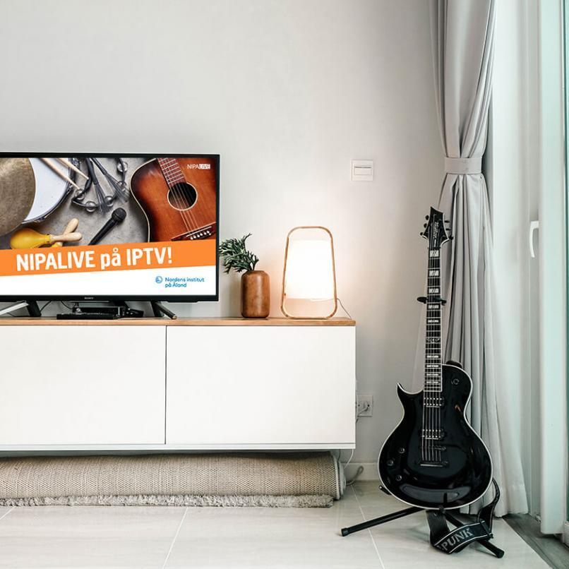 Nordens institut på Åland samarbetar med Ålcom och gör digitala konserter tillgängliga på IPTV
