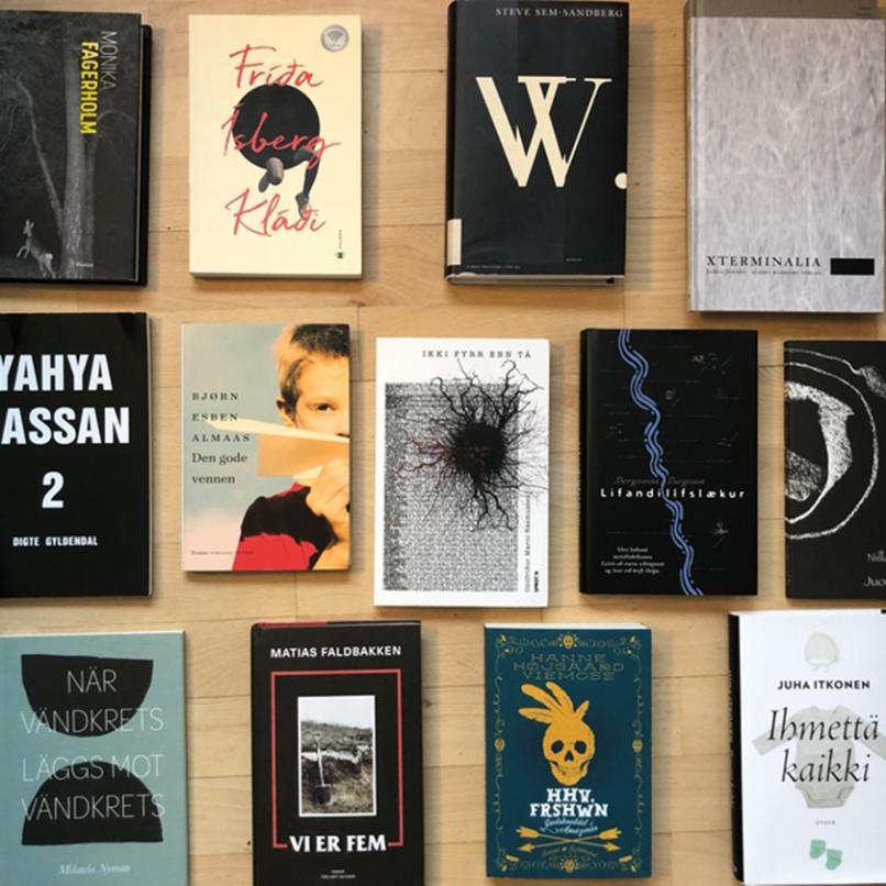 Nominerade till Nordiska Rådets litteraturpris 2020