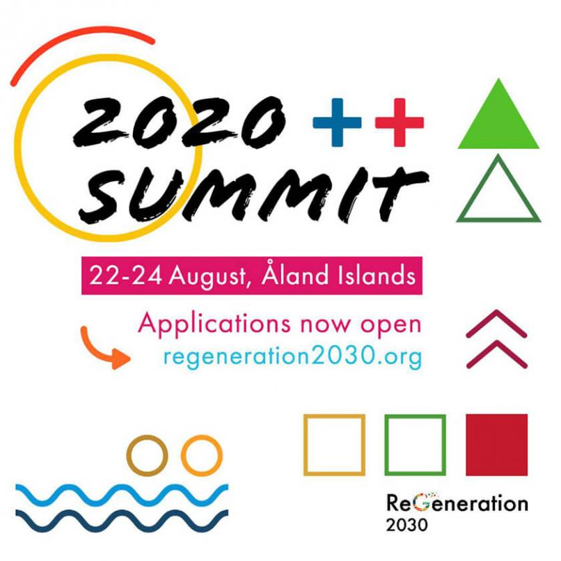Time to apply to ReGeneration Summit!