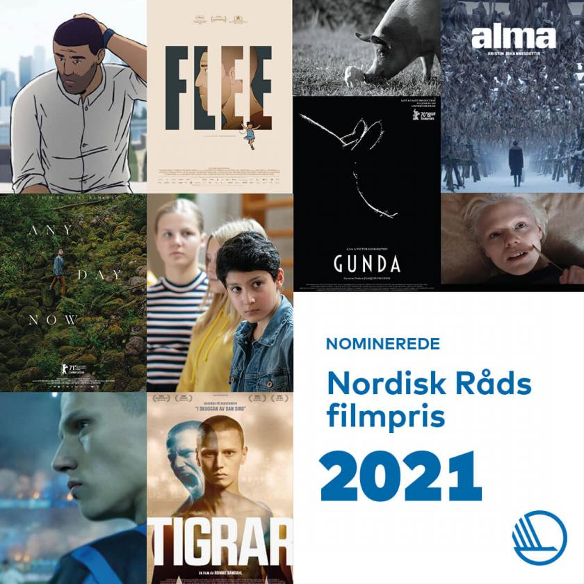 Här är de nominerade till Nordiska Rådets filmpris!