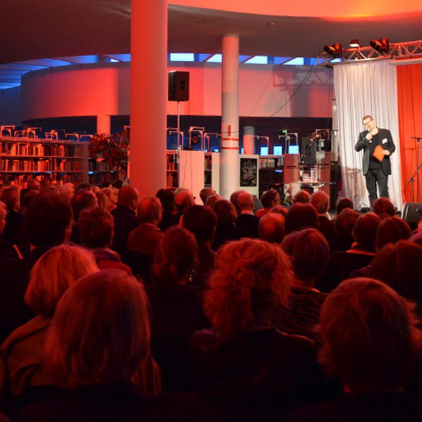 Litteraturdagarna sänds live på nipalive.ax av Nordens institut på Åland