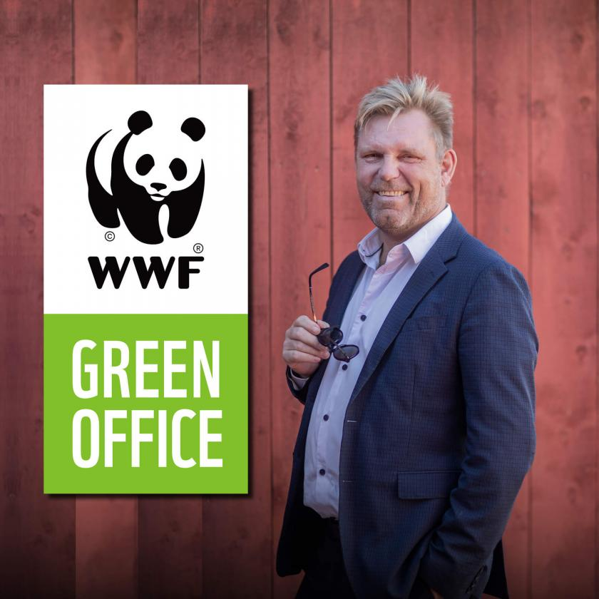 NIPÅ är Green Office Certifierade