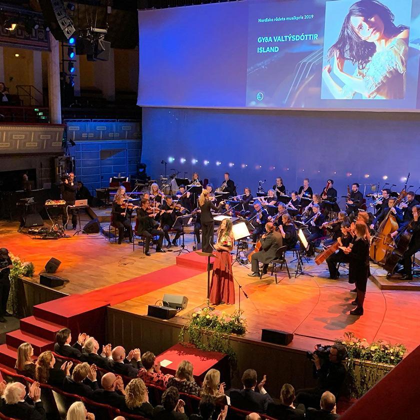 Nordiska rådets prisutdelning på Kulturhuset i Stockholm 2019