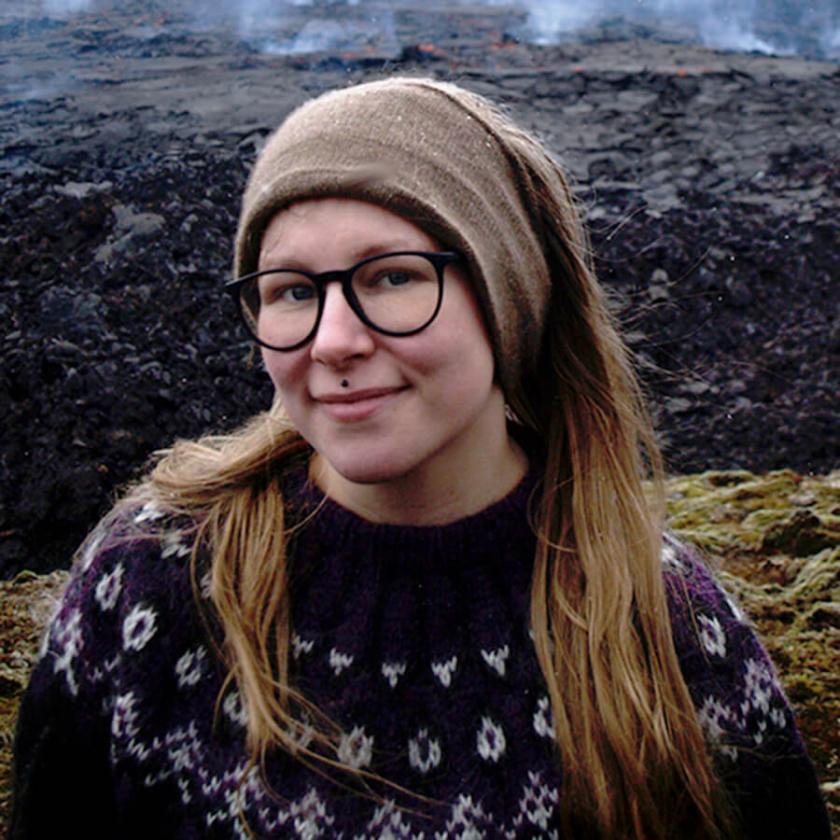 Pauliina - praktikant på NIPÅ (Nordens institut på Åland) hösten 2021