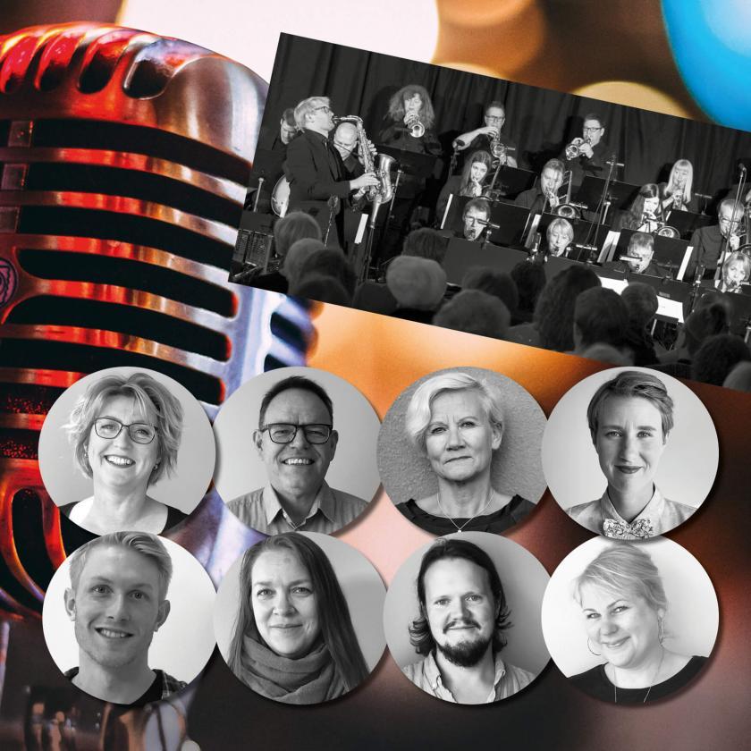 Nordens institut på Åland ordnar Storbandskväll i samarbete med Alandia Big Band